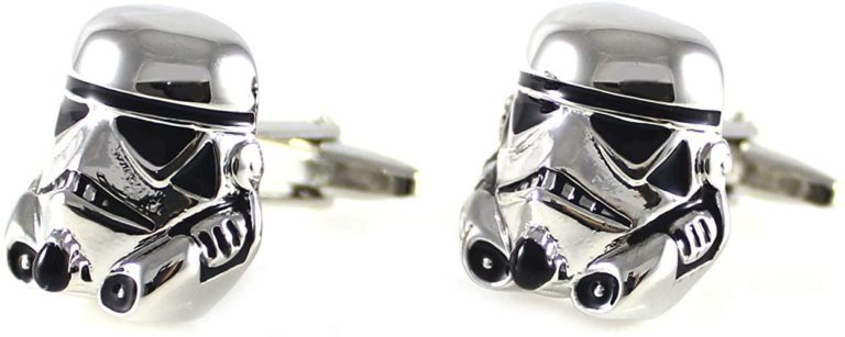geek gifts for him: star wars cufflinks