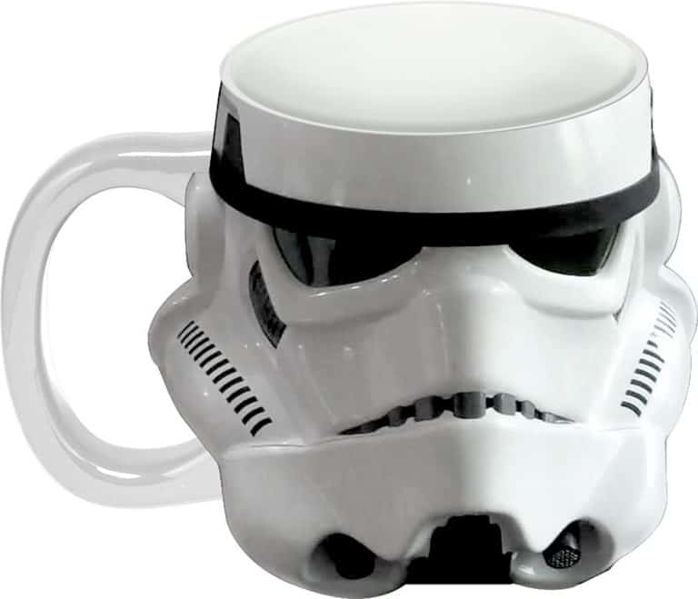 geek gifts - stormtrooper ceramic mug -