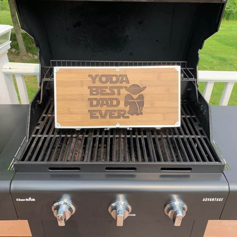 yoda best dad grilling gift set - star wars gift for dad
