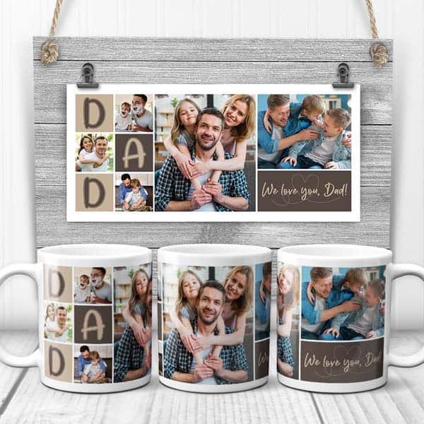 We Love You Dad Coffee Mug