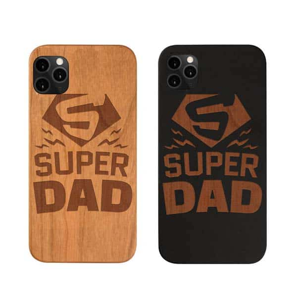fathers day ideas: Wood Phone Case