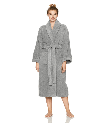 mothers day ideas gifts: cotton bathrobe
