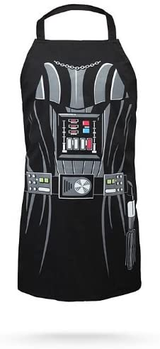 star wars gift idea: darth vader apron