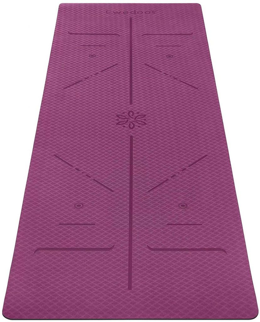 yoga mothers day gift for mom: eco friendly yoga mat