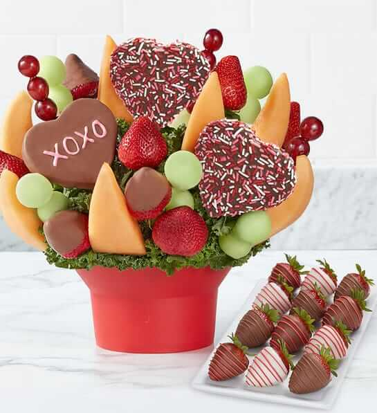 quick mothers day gift: fruit bouquet