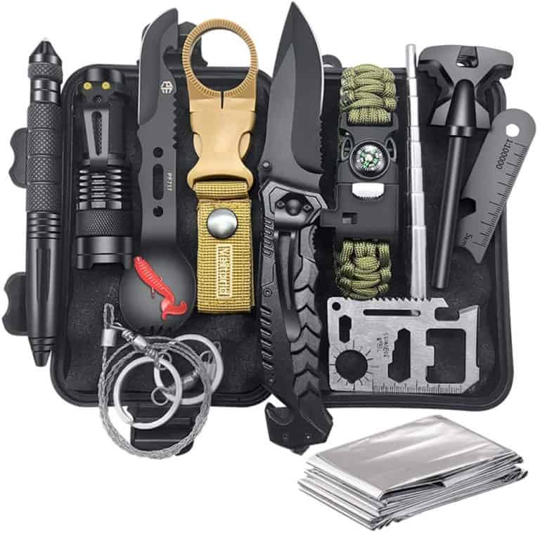 good gifts for hikers - survival emergency kit