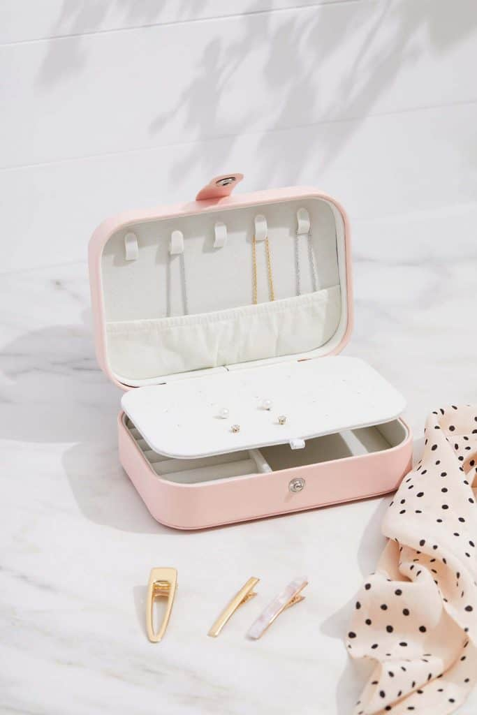 monogrammed jewelry box for women