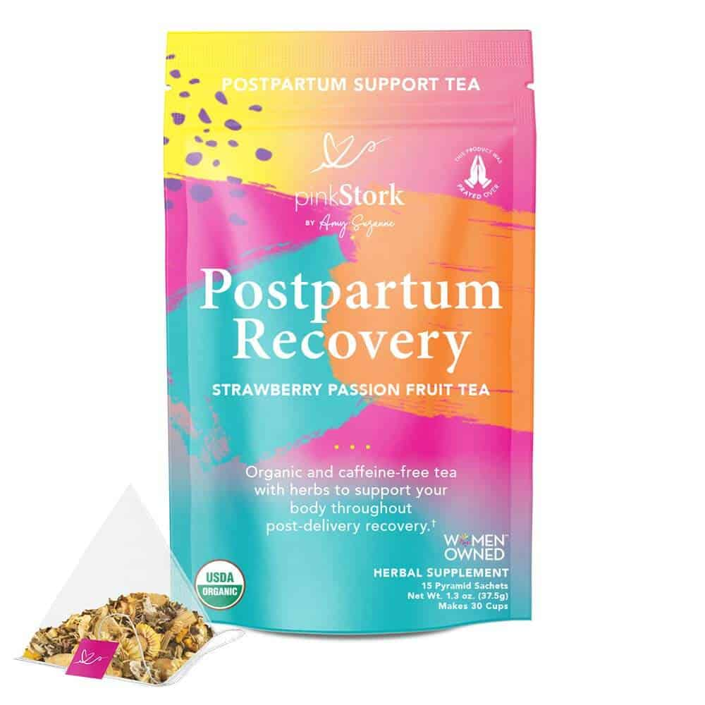 1st mother's day gift ideas: postpartum recovery tea