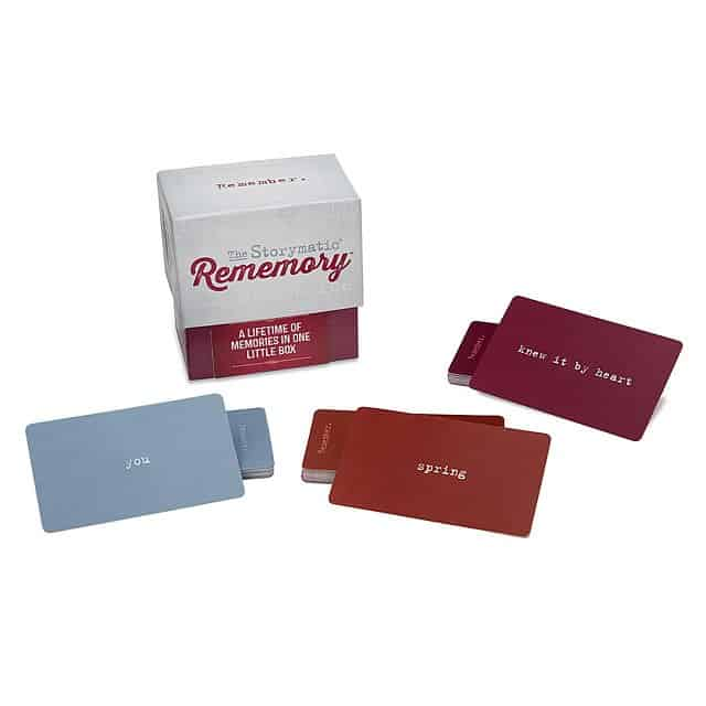 10 year anniversary gift idea: rememory game