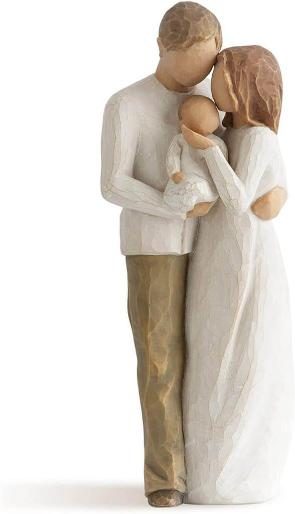 first mother's day gift: willow tree our gift figure