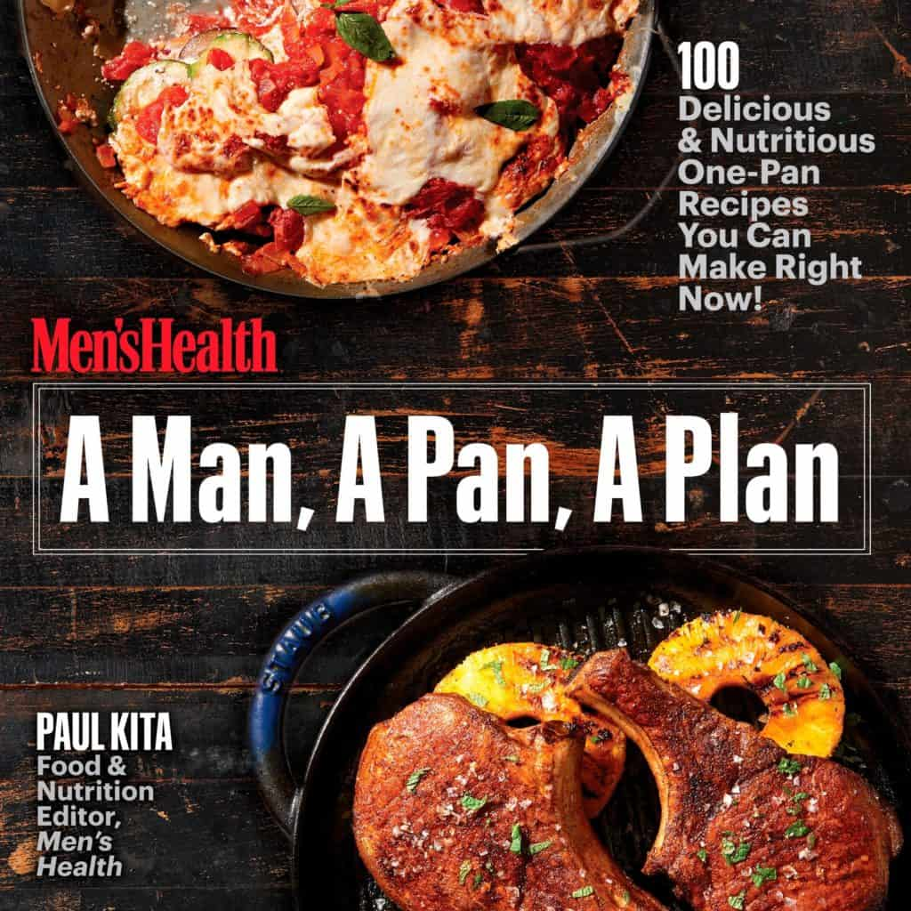 gift for stepfather who loves to cook: a man, a pan, a plan cookbook