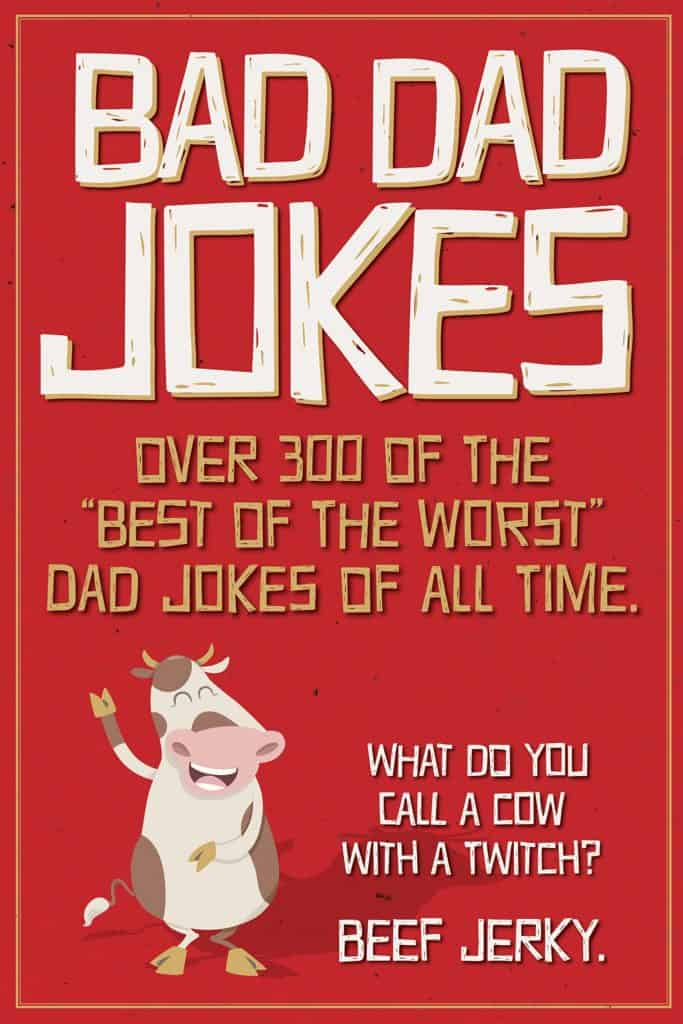 step dad gift ideas: bad dad jokes