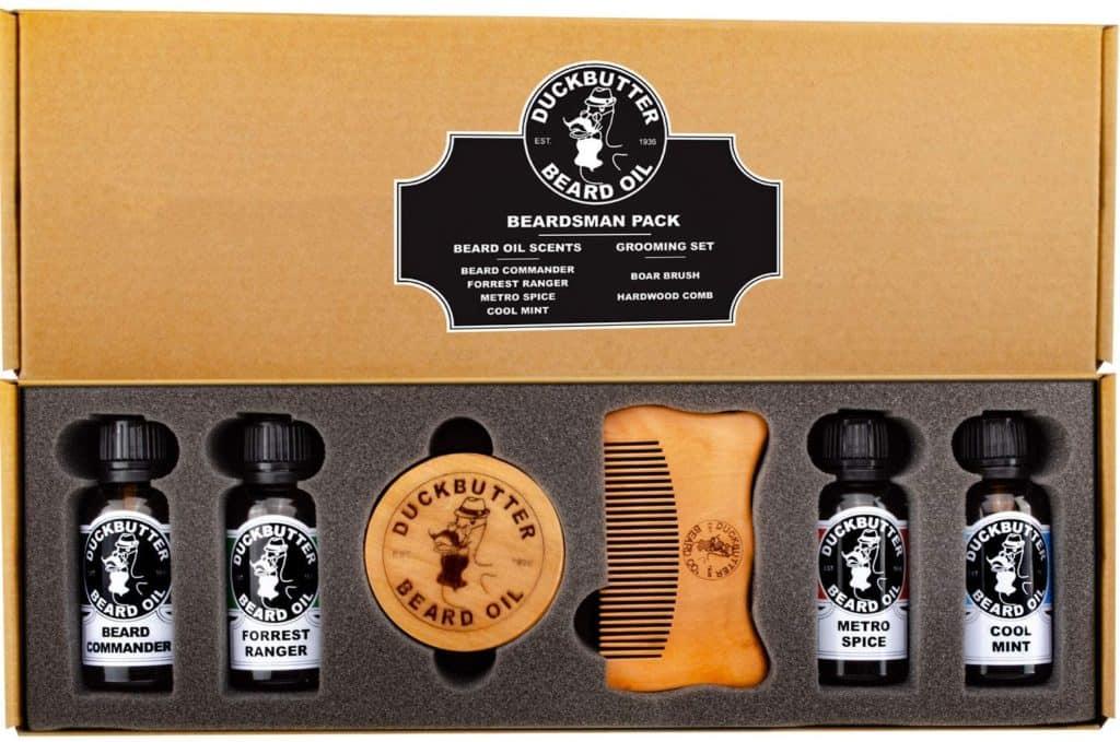 beard oil pack gift set - step dad gift ideas