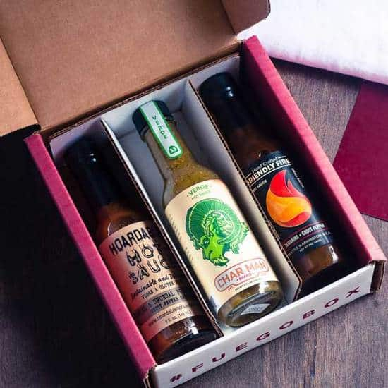 gifts for stepdad: hot sauce subscription