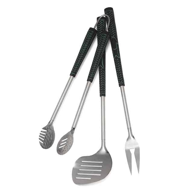 golf and grilling gifts for stepdad: golfers bbq set