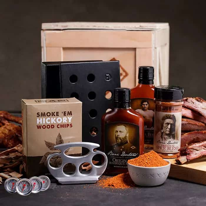 grilling gifts for stepdad: grill master crate