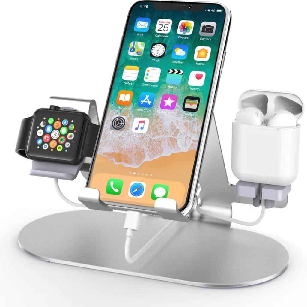 Apple Aluminum Charging Station