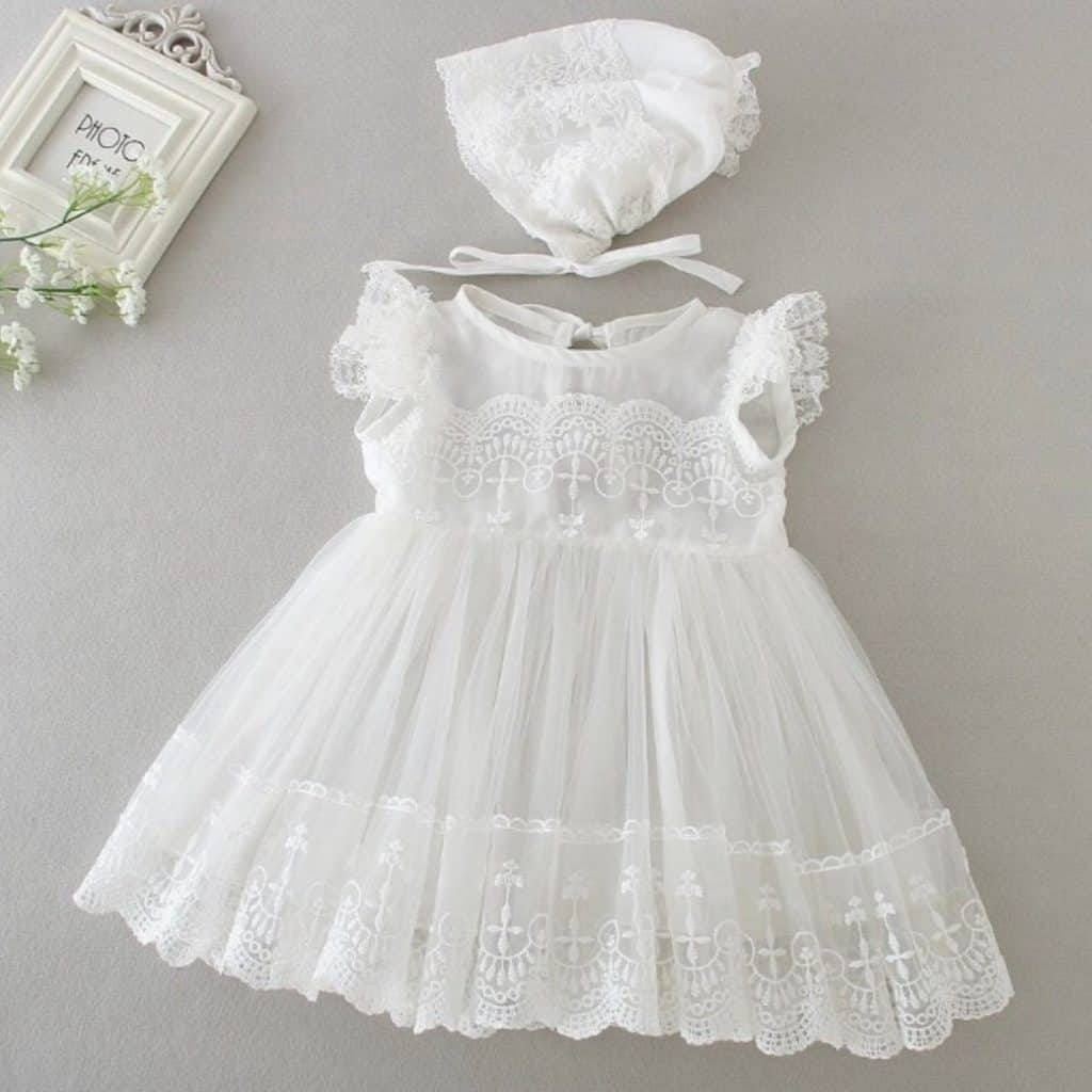 white Baptism Dresses - baptism gifts for girls