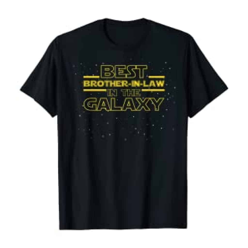Best Brother in Law Galaxy Shirt