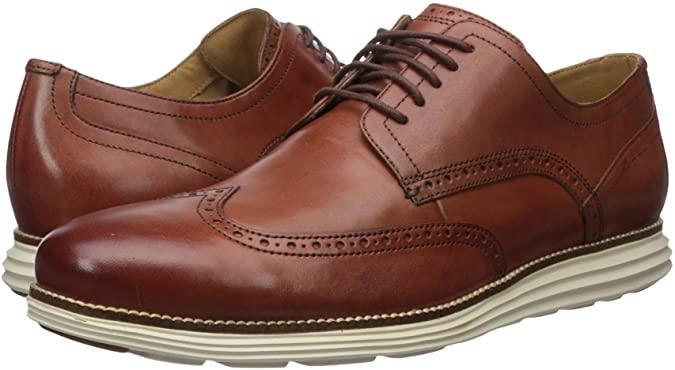 Cole Haan Men's Original Grand Short Wing Oxford Shoes
