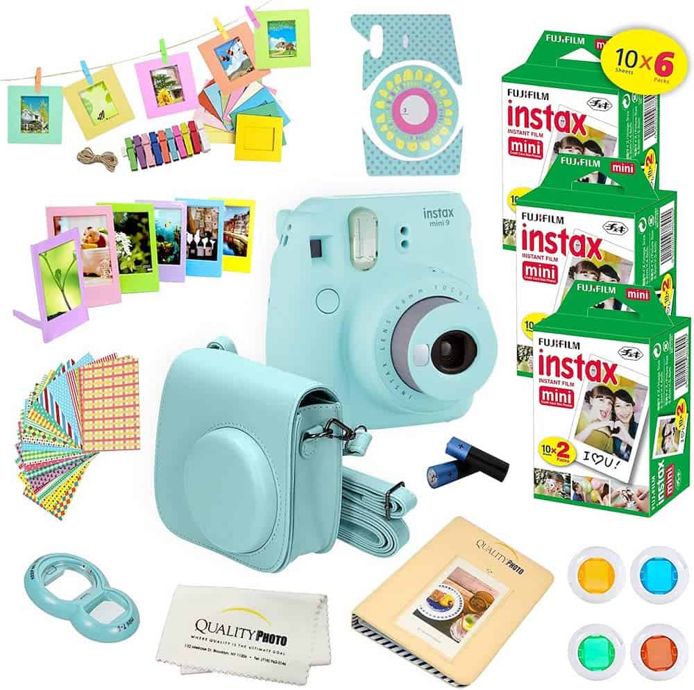 Fujifilm Instax Mini 9 Instant Camera For Her On Sweet 16 Birthday
