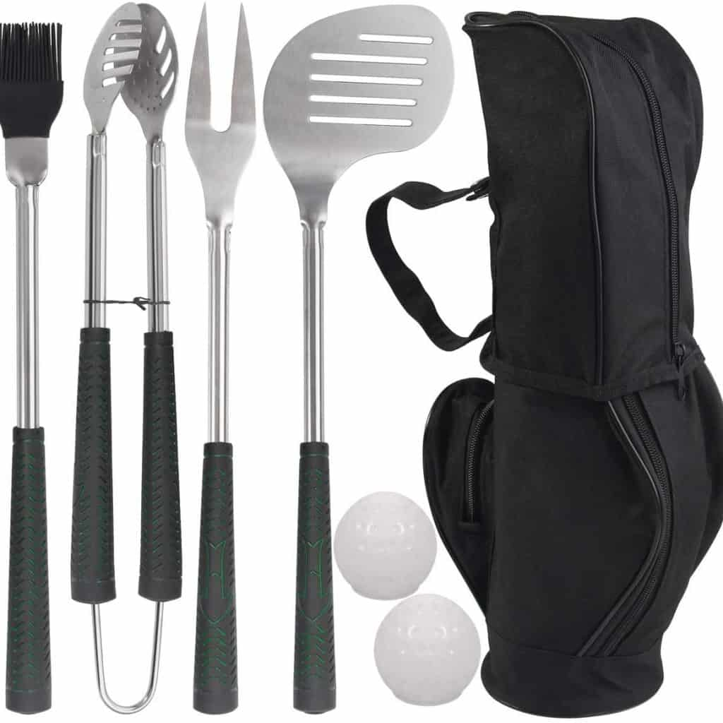 Golf BBQ Grill Tools Set