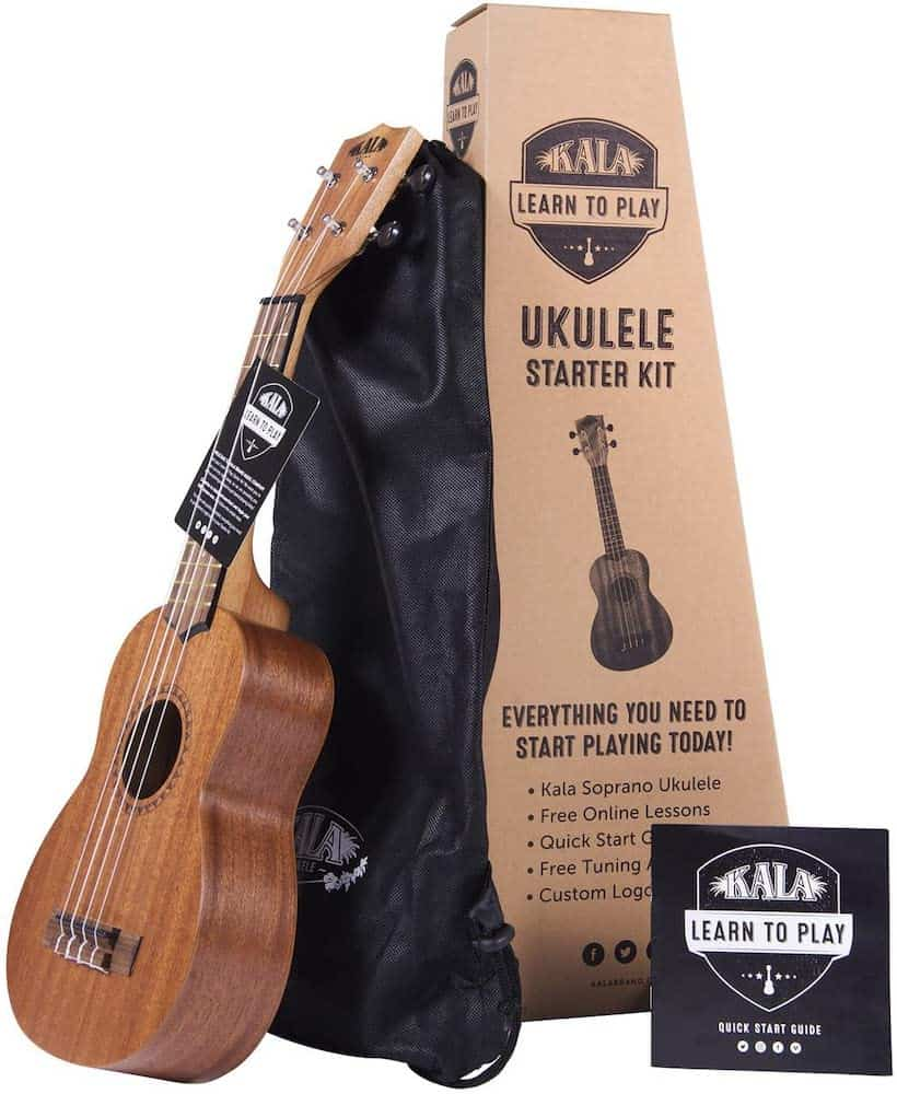 Ukulele Soprano Starter Kit - 16th birthday gift