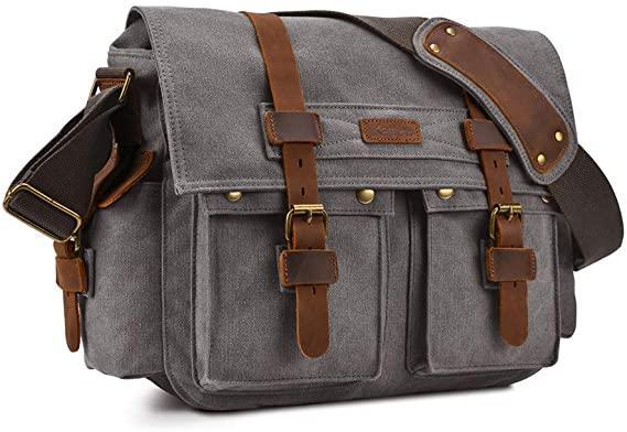 Kattee Military Messenger Bag For Men