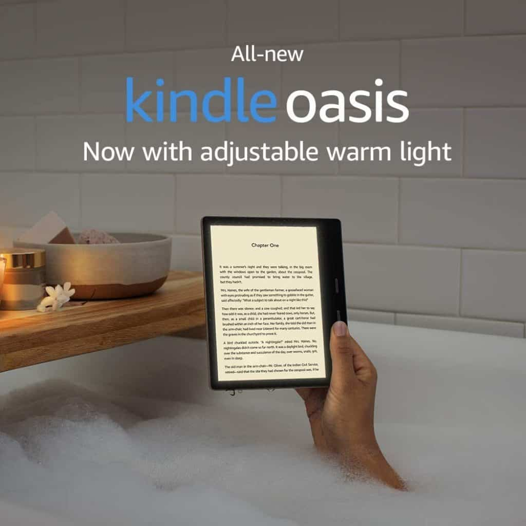 Kindle Oasis is also a good choice for retirement gifts for women