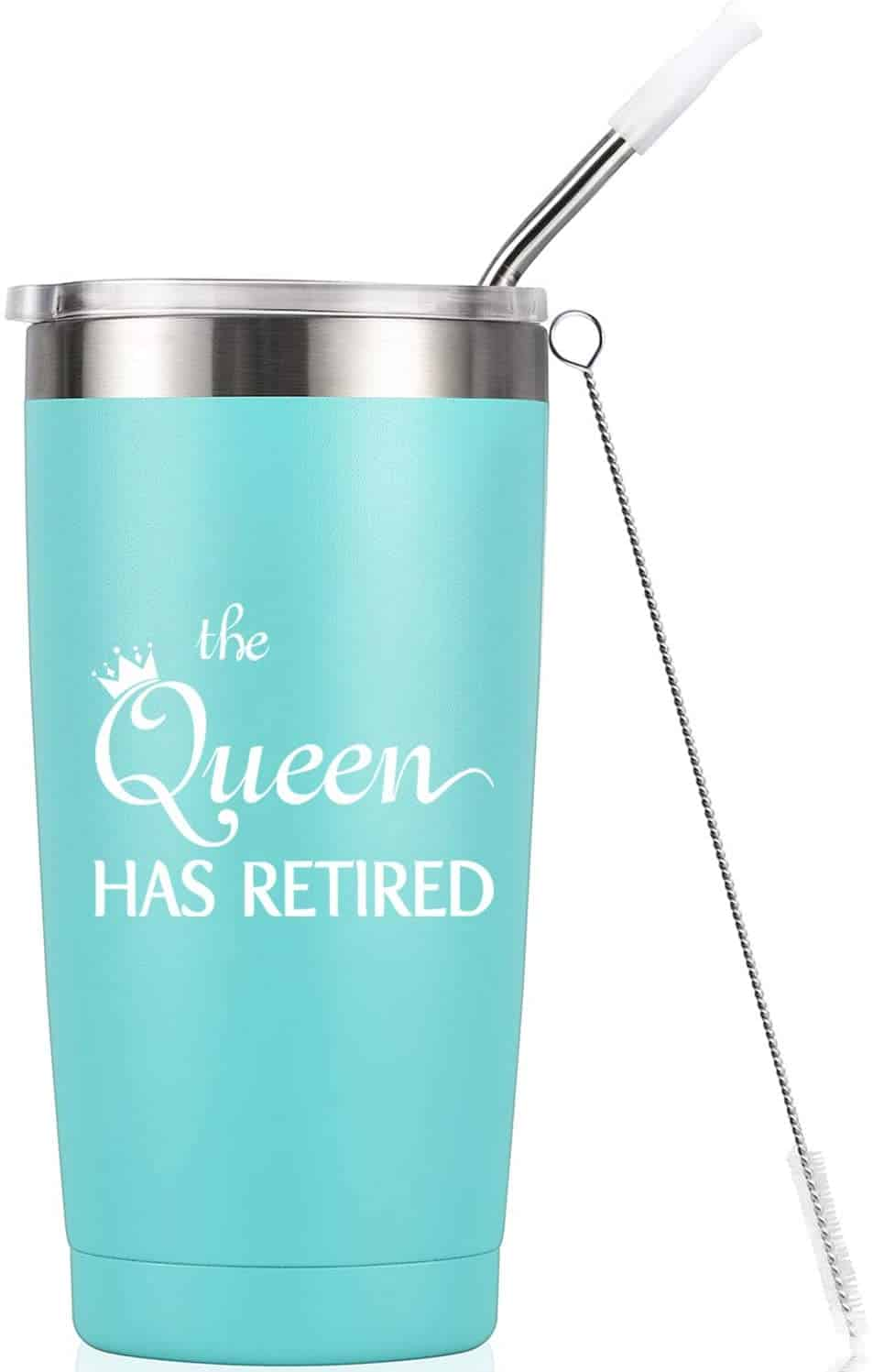 This Mug Tumbler is the perfect retirement gift for women