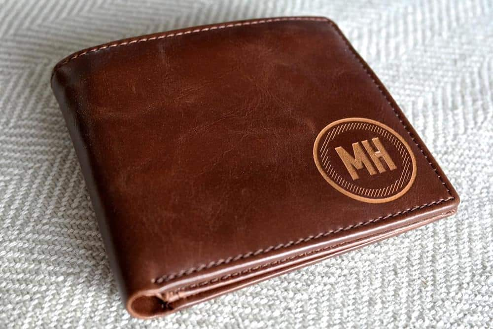 Personalized Leather Wallet For Him