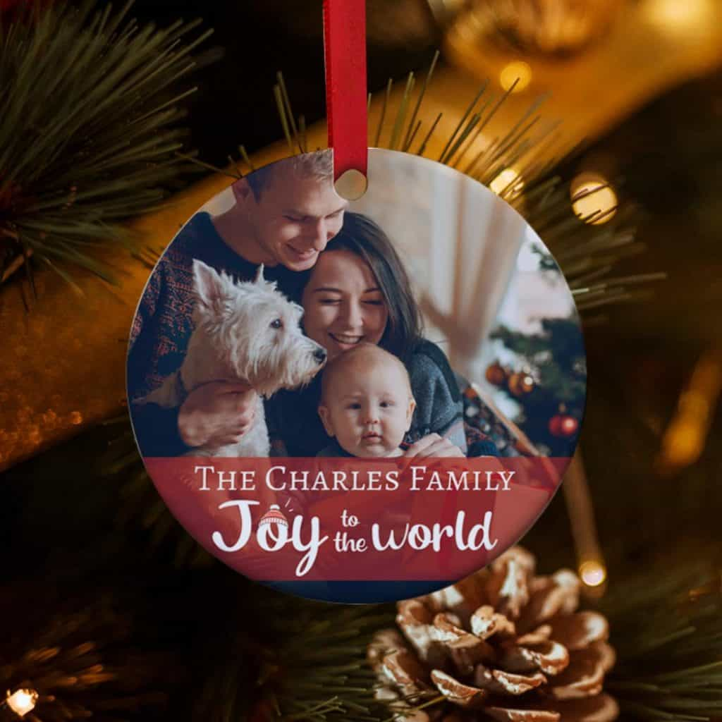 Personalized Ornament: great gift for brother-in-law