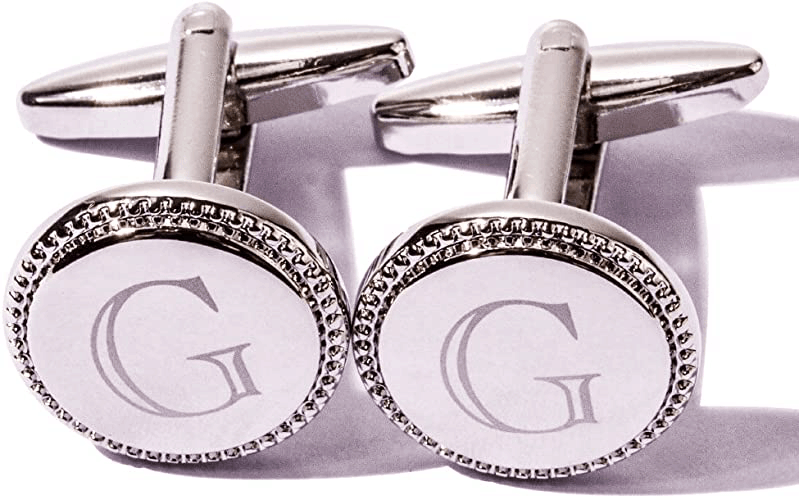 Platinum Plated Cufflinks For Husband