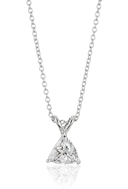 Platinum-Plated Sterling Silver Necklace