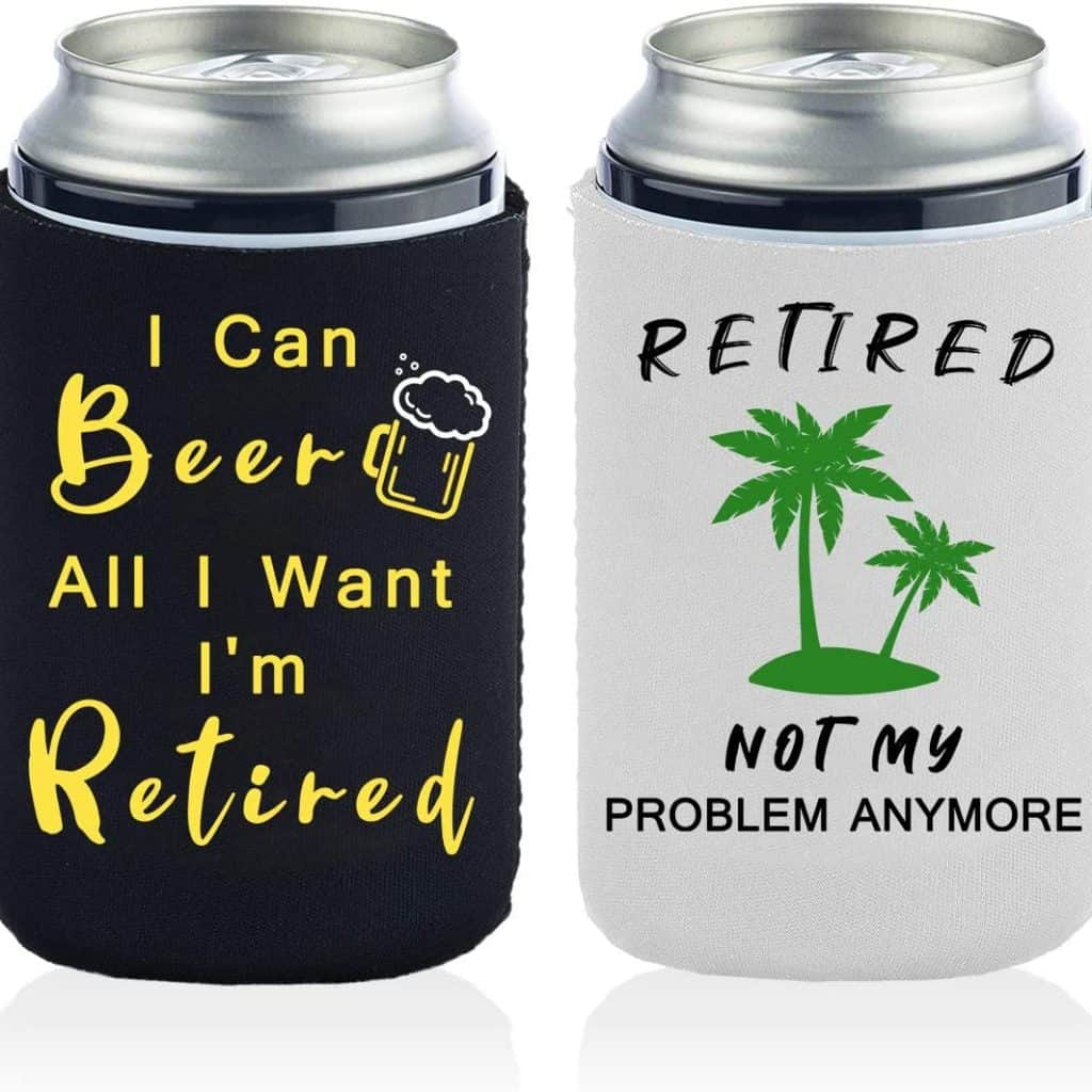 Retirement Can Coolers Gifts
