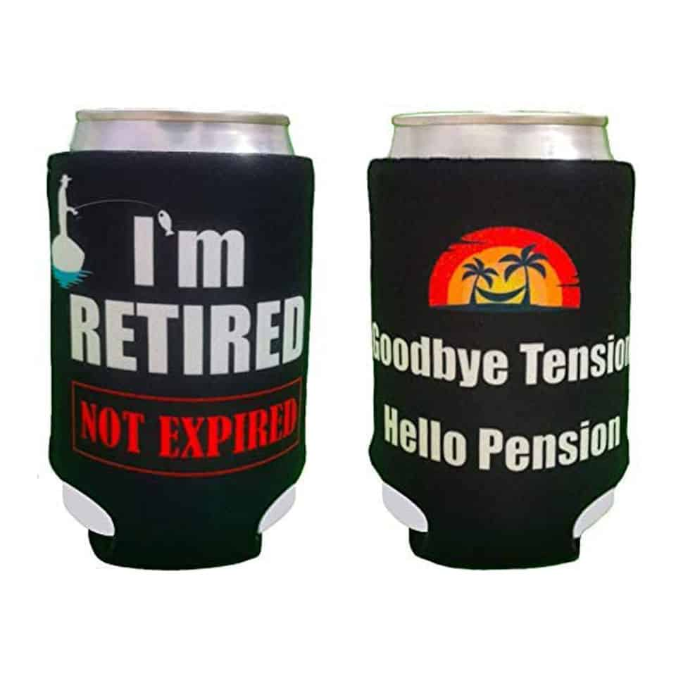 Retirement Can Coolers