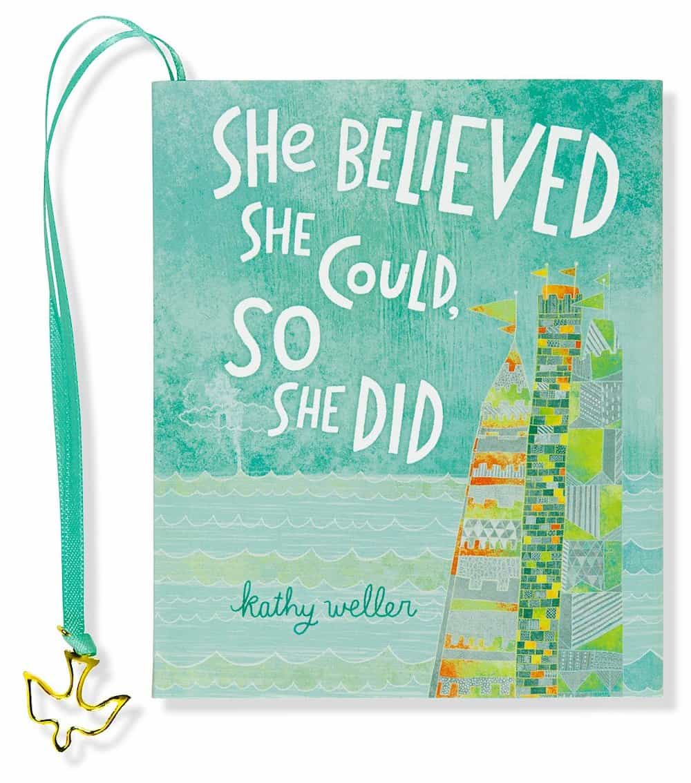 She Believed She Could, So She Did mini book
