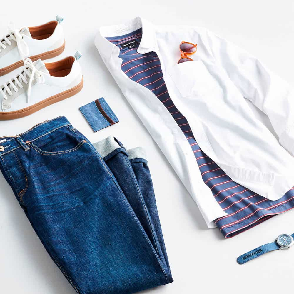 A Set Of Male Clothing - Stitchfix Gift Card For Him