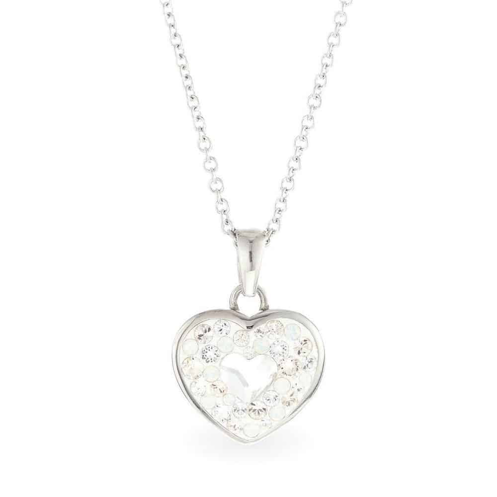 Swarovski Handmade Heart Necklace