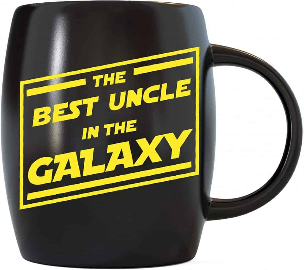 star wars gift for unle: the best uncle in the galaxy mug
