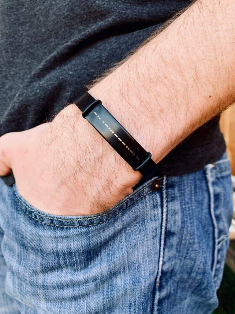 best uncle gift idea: custom morse code bracelet