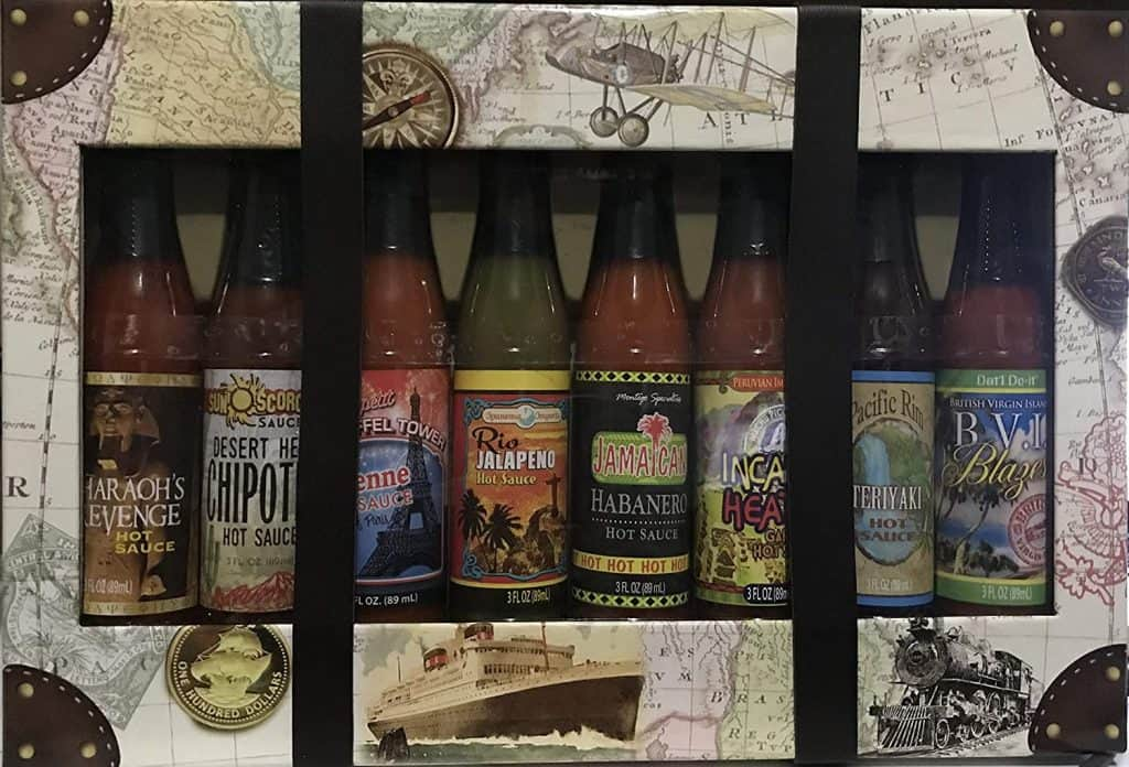 gourmet hot sauce gift set - Dat'l Do It Global Hot Sauce Collection