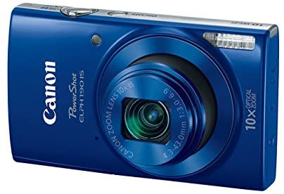Blue Cannon Digital Camera - Great retirement gifts for men