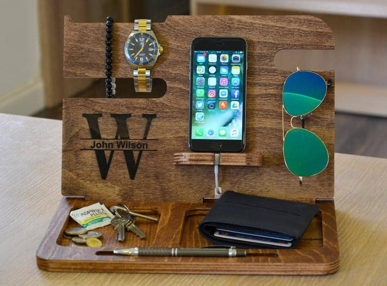 cool uncle gift: engraved docking station