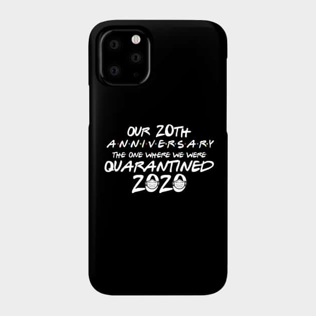 funny 20th anniversary iphone case