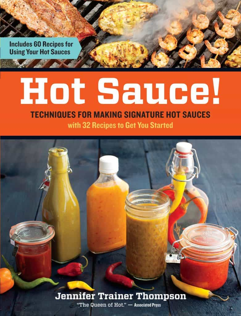 hot sauce gift idea: hot sauce recipe cookbook