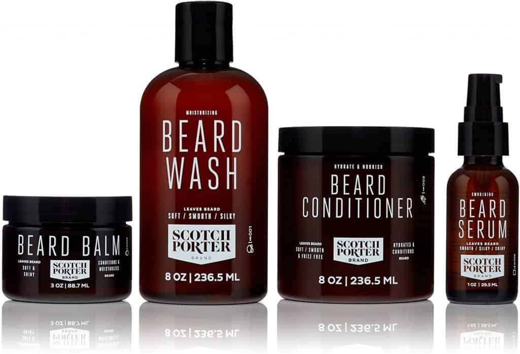 gift for uncle: premium beard grooming kit