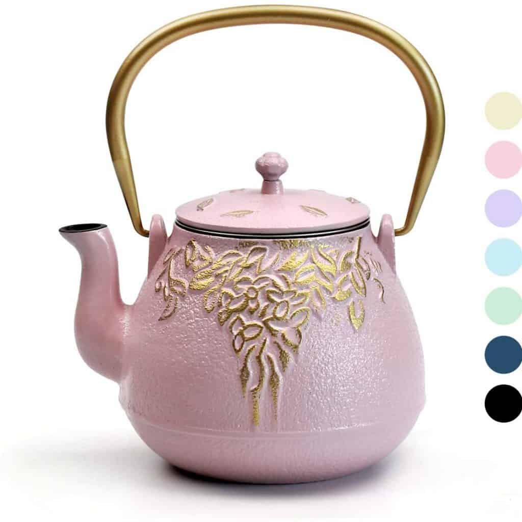 One more ideal retirement gift for women is teapot