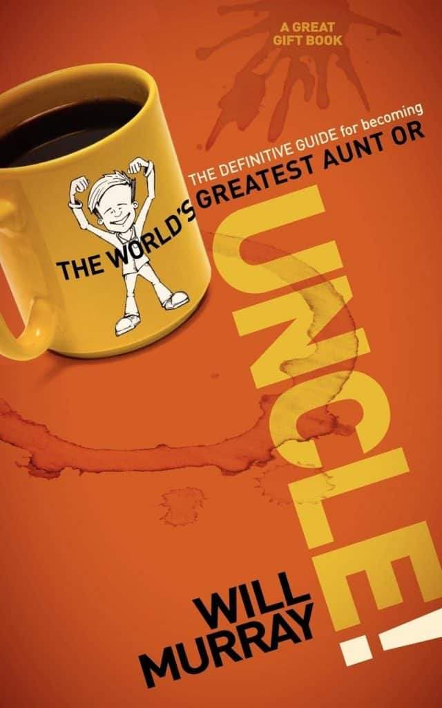 "uncle gift ideas: ""The Definitive Guide for Becoming the World's Greatest Aunt or Uncle"" Book"