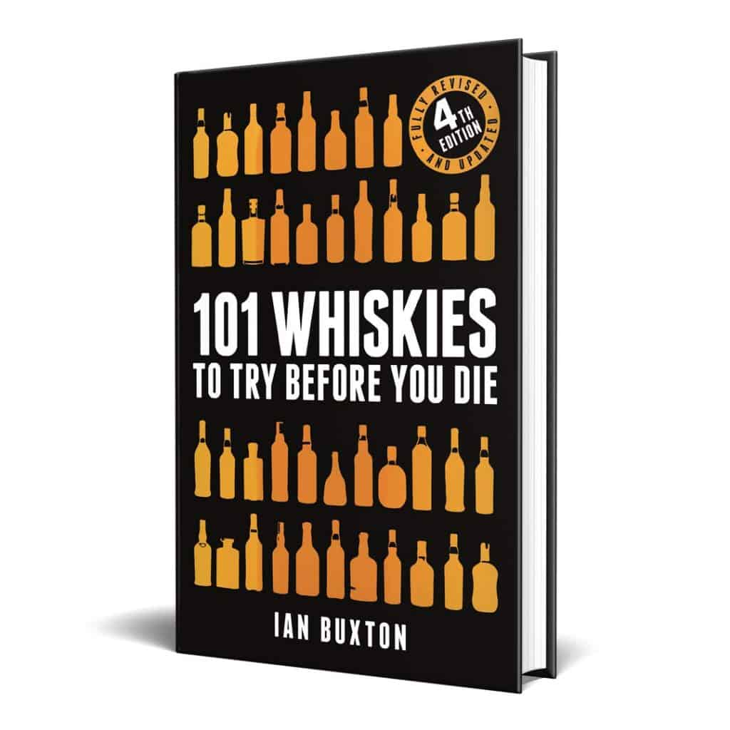 """whiskey drinker gift: """"101 whiskies to try before you die"""" book"""